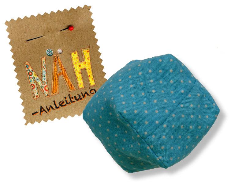 Nähanleitung für einen Jonglierwürfel von Ideen hoch 3