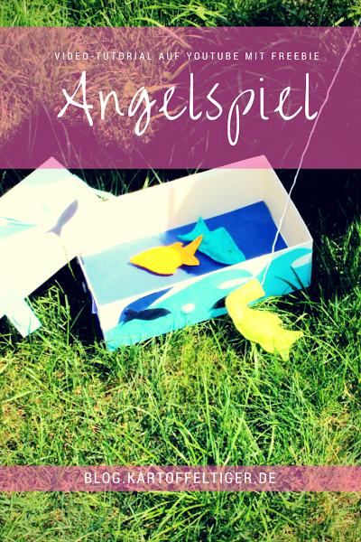 Kostenloses Schnittmuster für ein Angelspiel für Kinder