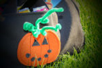 Tasche als Kürbis für Halloween nähen