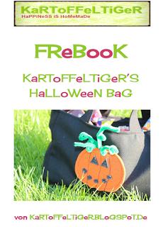 Tasche für Halloween nähen mit Nähanleitung von Eva Kartoffeltiger