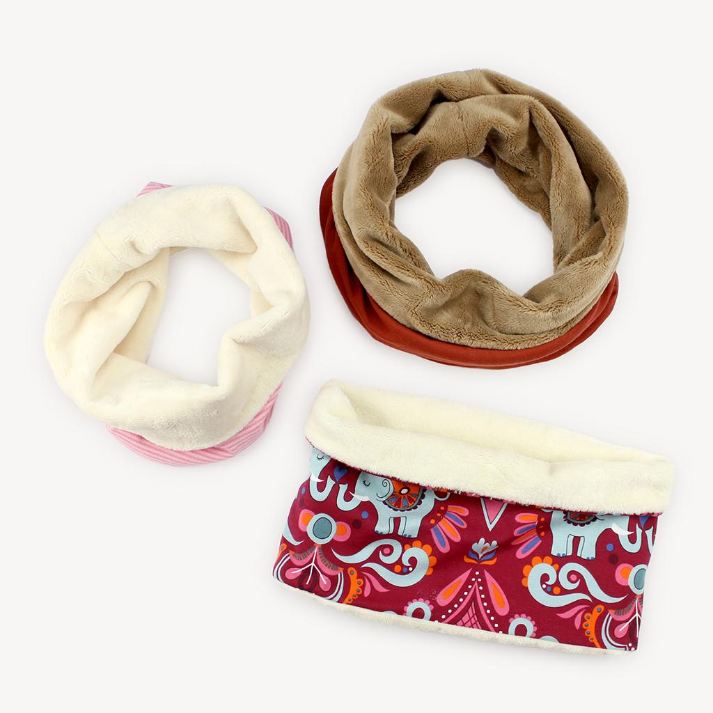 Fertiggenähtes Schnittmuster Halssocke bzw. Schlupfschal für Kinder und Erwachsene von Kullaloo.