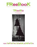 Titelbild für gratis Schnittmuster die Weihnachtstanne TrEEbIE von Eva Kartoffeltiger.