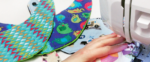 Beispielbild für das Schnittmuster Babylätzchen von Stoffe.de