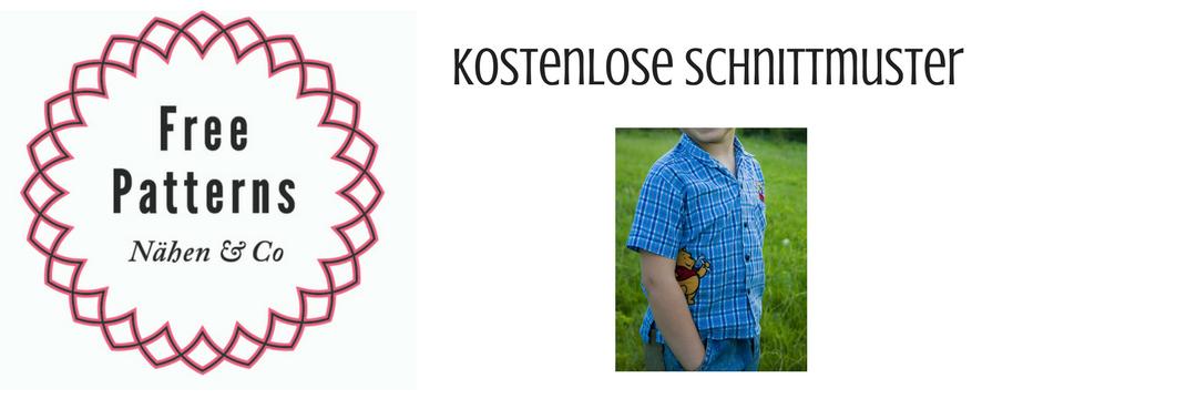 Logo Free Patterns Schnittmuster für Jungenkleidung