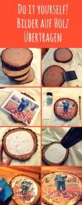 DIY Tutorial für Fotos auf Holz übertragen von Handarbeiten mit Isar Mami