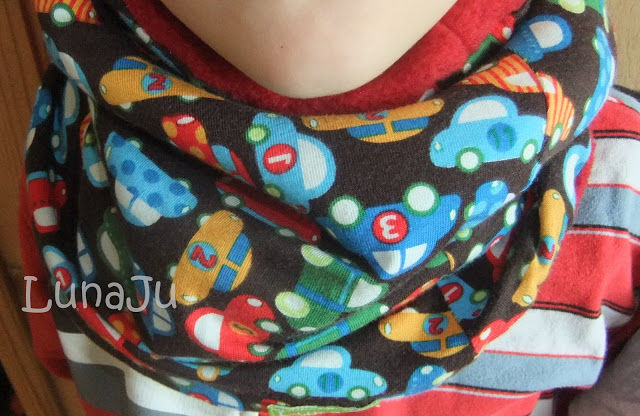 Nähanleitung Halssocke für Kinder