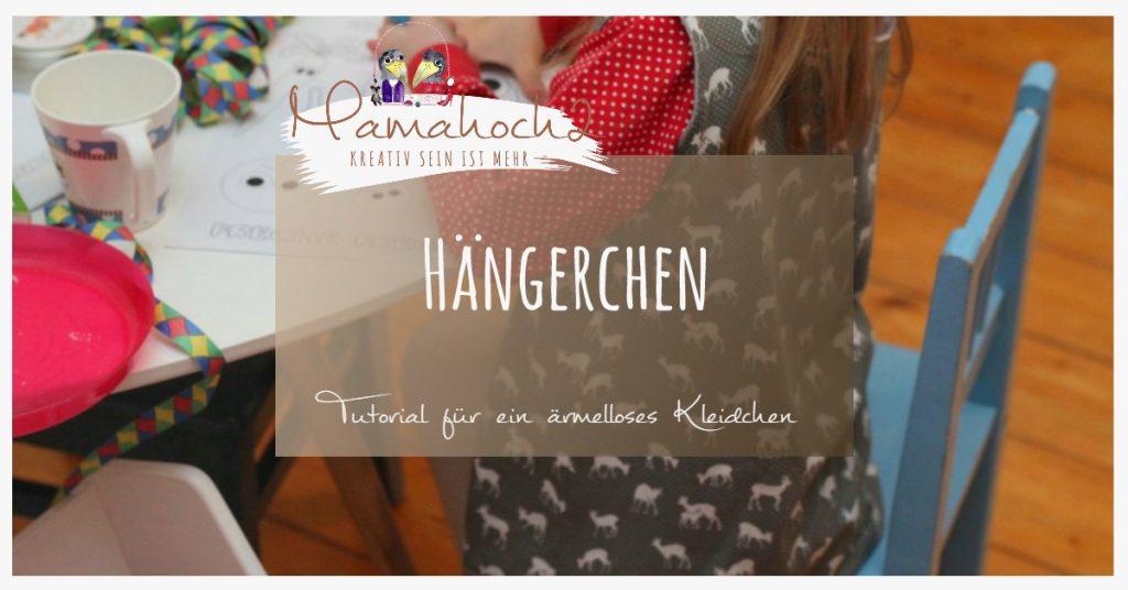 Nähanleitung für ärmellösen Kleid von Mamahoch2