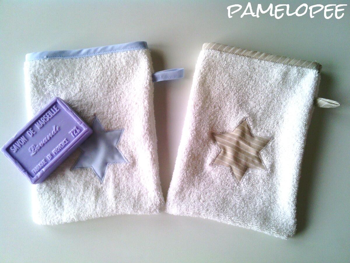 Beitragsbild für Nähanleitung von Waschhandschuhen von Pamelopee.