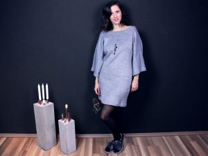Kleid mit XL Ärmeln nähen