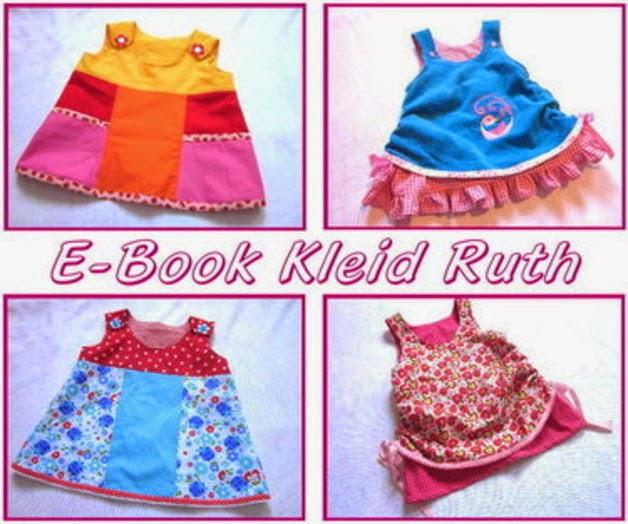 Fertiggenähtes Schnittmuster des Kleides Ruth - Mädchenkleid von sui-generis-design nähen
