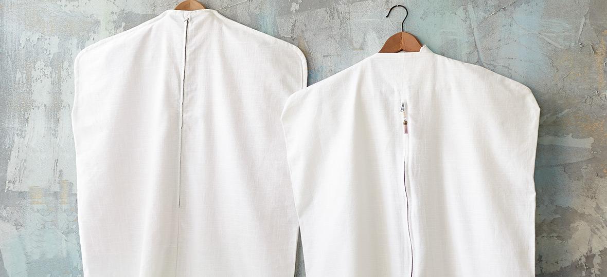 Kleidersack für Kleideraufbewahrung nähen