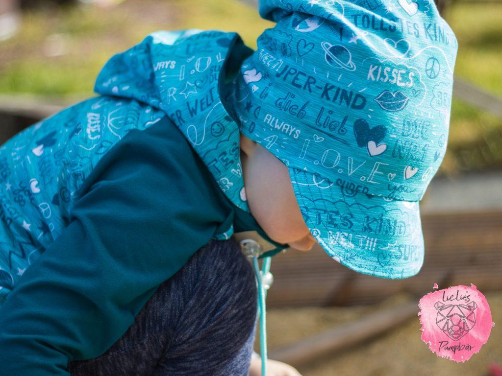 Kostenloses Schnittmuster Babymütze von Lielies Pumpär