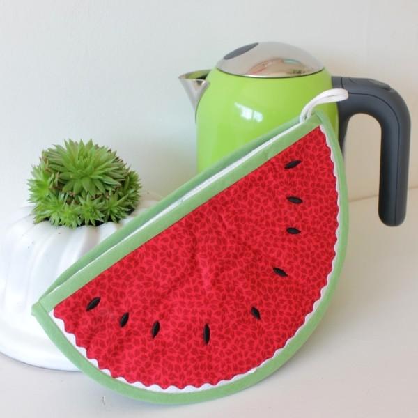 Topflappen Wassermelone von Sulky - Gratis Schnittmuster.