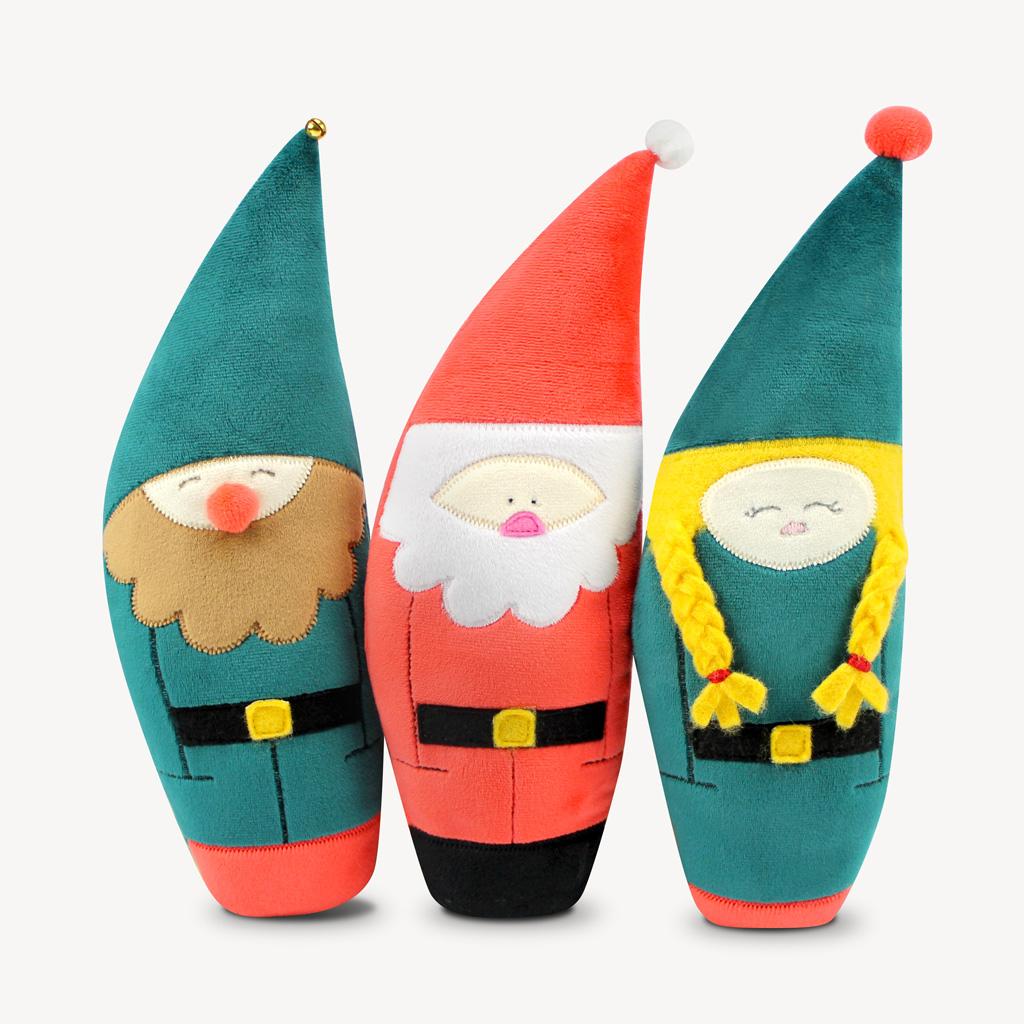 Schnittmuster Weihnachtsmann, Weihnachtshelfer.