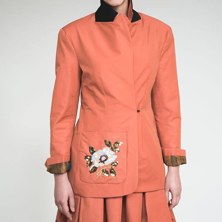 Gratis Schnittmuster elegante Jacke