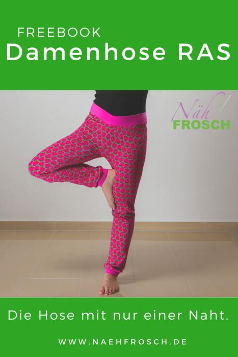 Frauenhose für Sport und Chillen nähen