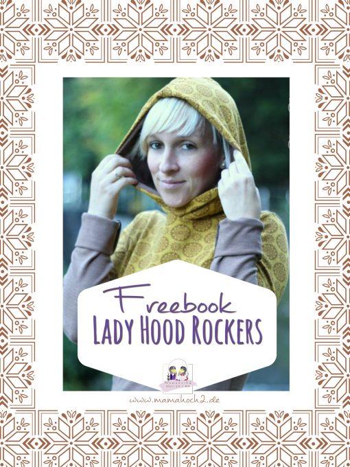 Hoodie für Frauen nähen mit kostenlosem Schnittmuster und Nähanleitung