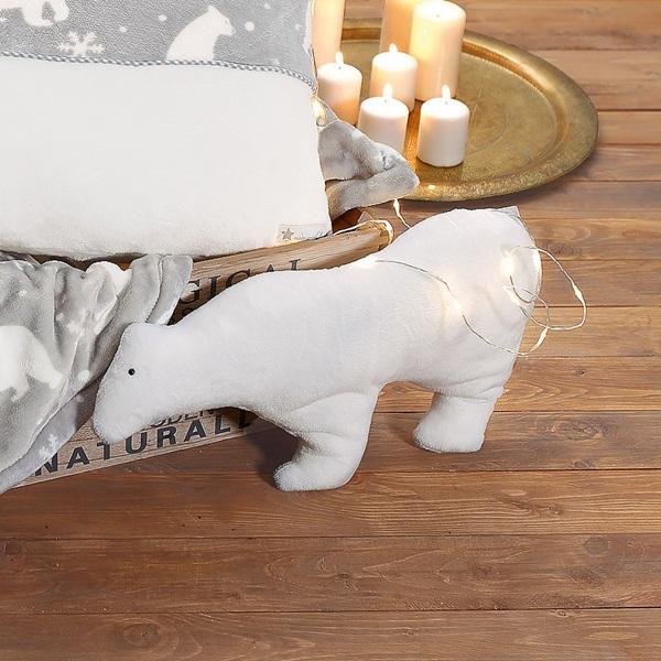 Kuschelkissen Eisbär mit Nähanleitung von Buttinette nähen