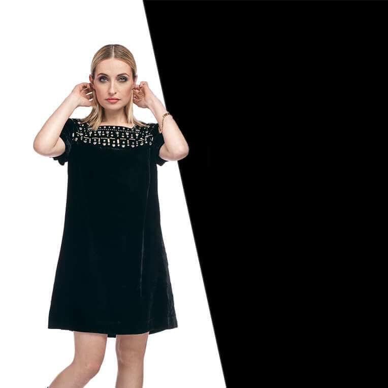Mini-Kleid für Frauen mit Nähanleitung und Schnittmuster nähen