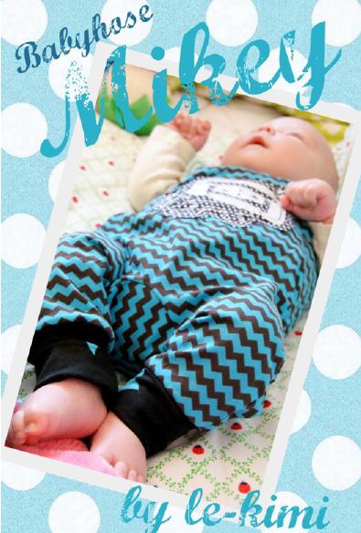 Baby Strampler nähen mit Nähanleitung von Le-Kimi