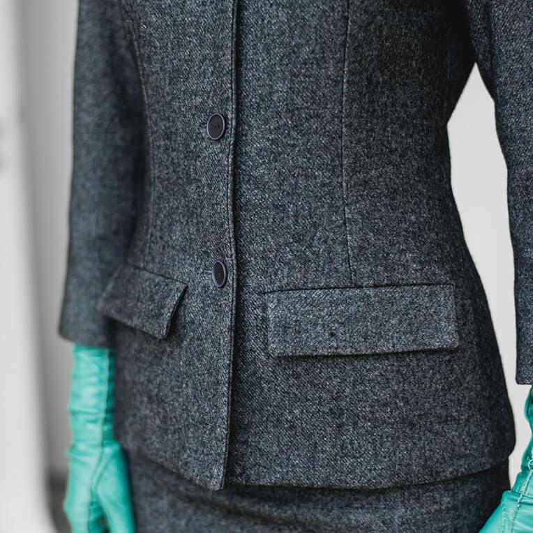 Tweedblazer für Frauen nähen