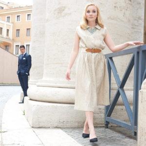 Schnittmuster kostenlos: Kleid Vicky