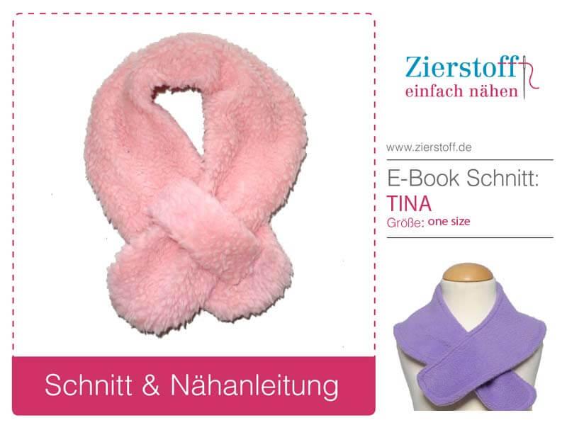Schal für Kinder nähen mit Nähanleitung von sisterMAG