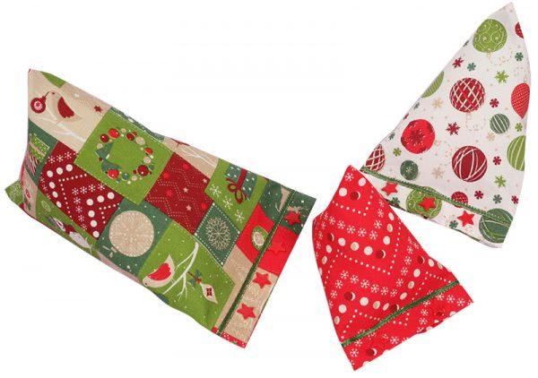 Nähanleitung weihnachtliche Geschenksäckchen