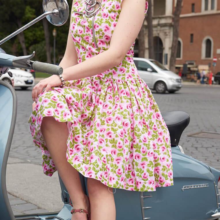 Kostenloses Schnittmuster für Kleid