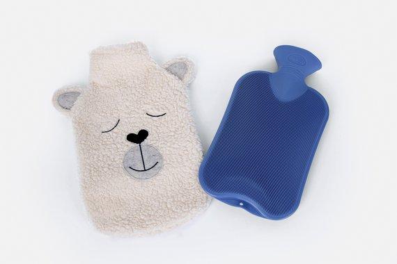 Wärmflasche mit gratis Schnittmuster