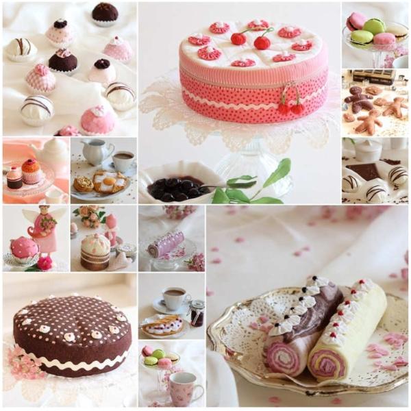 Kuchen nähen als Dekoration & Co