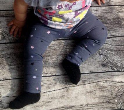 Gratis Schnittmuster Leggings Luna von K-Nähleon