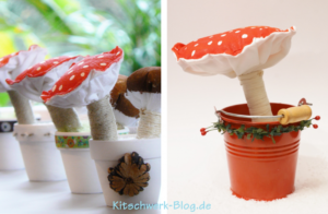 DIY Tutorial Pilze