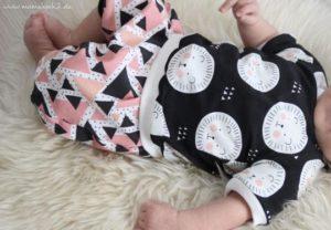 Kostenloses Schnittmuster Baby-Shirt von Mamahoch2