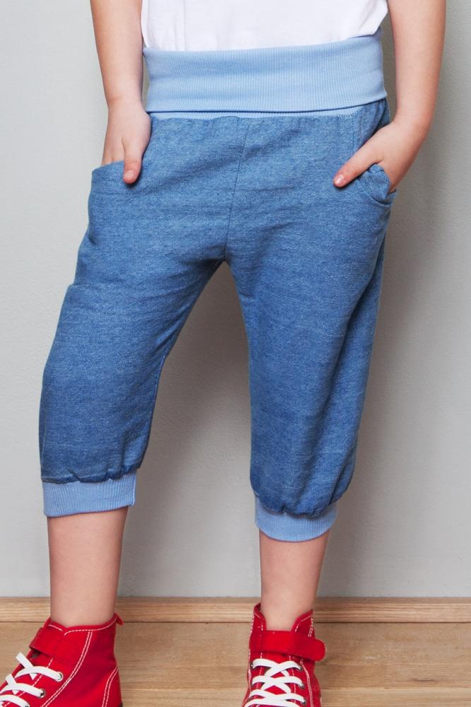 Kinderhose aus Jeans mit Nähanleitung und Schnittmuster nähen