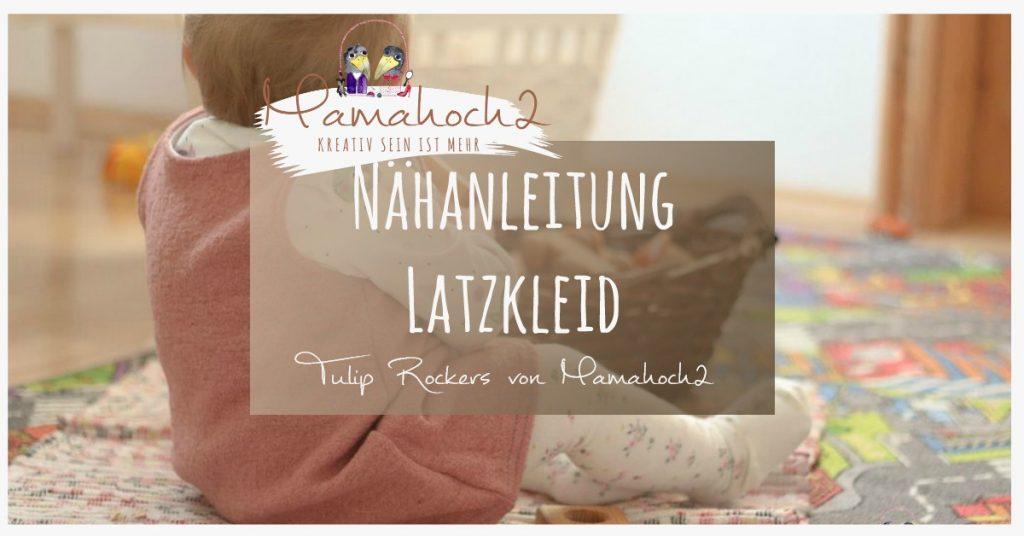 Latzkleid nähen mit Nähanleitung von Mamahoch2