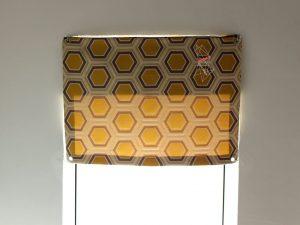 Dachfenstervorhang nähen mit Nähanleitung vo