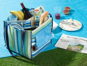 Picknicktasche nähen von Buttinette