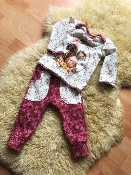 Shirt für Babys von Stoffwindelei nähen