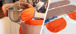 Topfhandschuh mit Nähanleitung von stoffe.de nähen