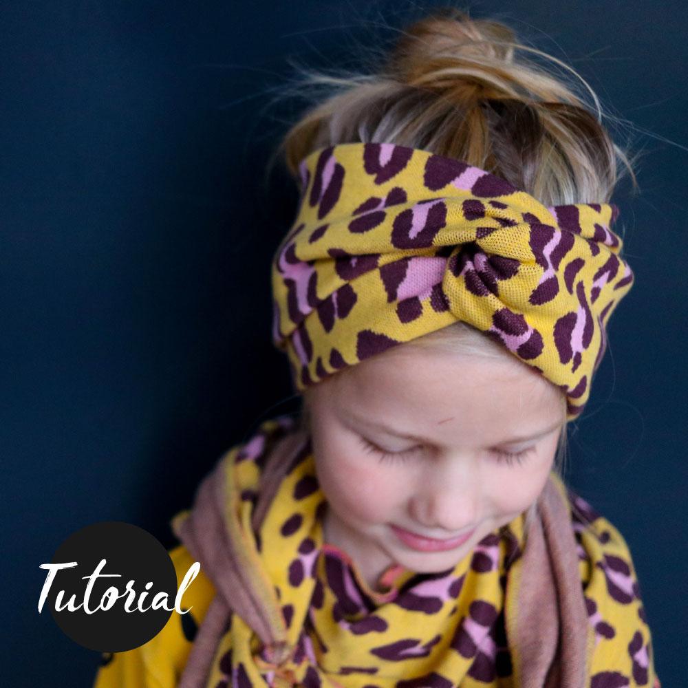 Nähtutoril für ein Bandeau Haarband