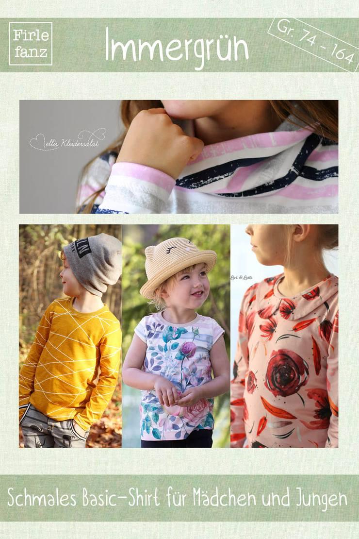Kinder-Shirt nähen von Firlefanz