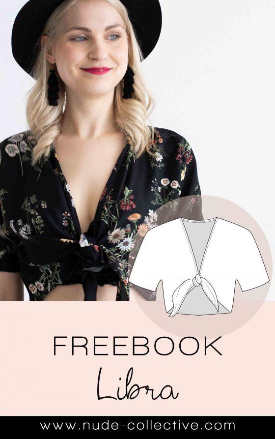 Luftiges Shirt für Frauen mit Schnittmuster und Nähanleitung nähen