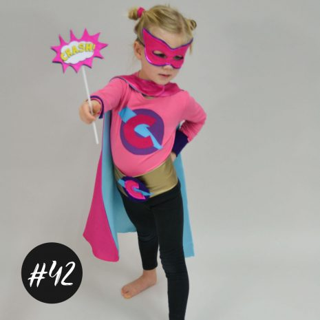 Superhelden-Kostüm nähen für Kinder