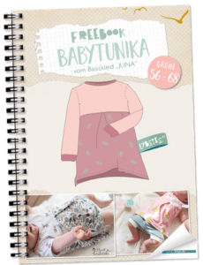 Schnittmuster kostenlos: Tunika für Babys