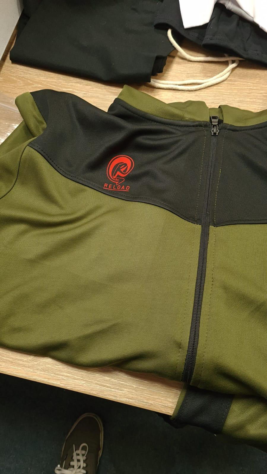 RELOAD GREEN X BLACK CHILL TRACKSUIT