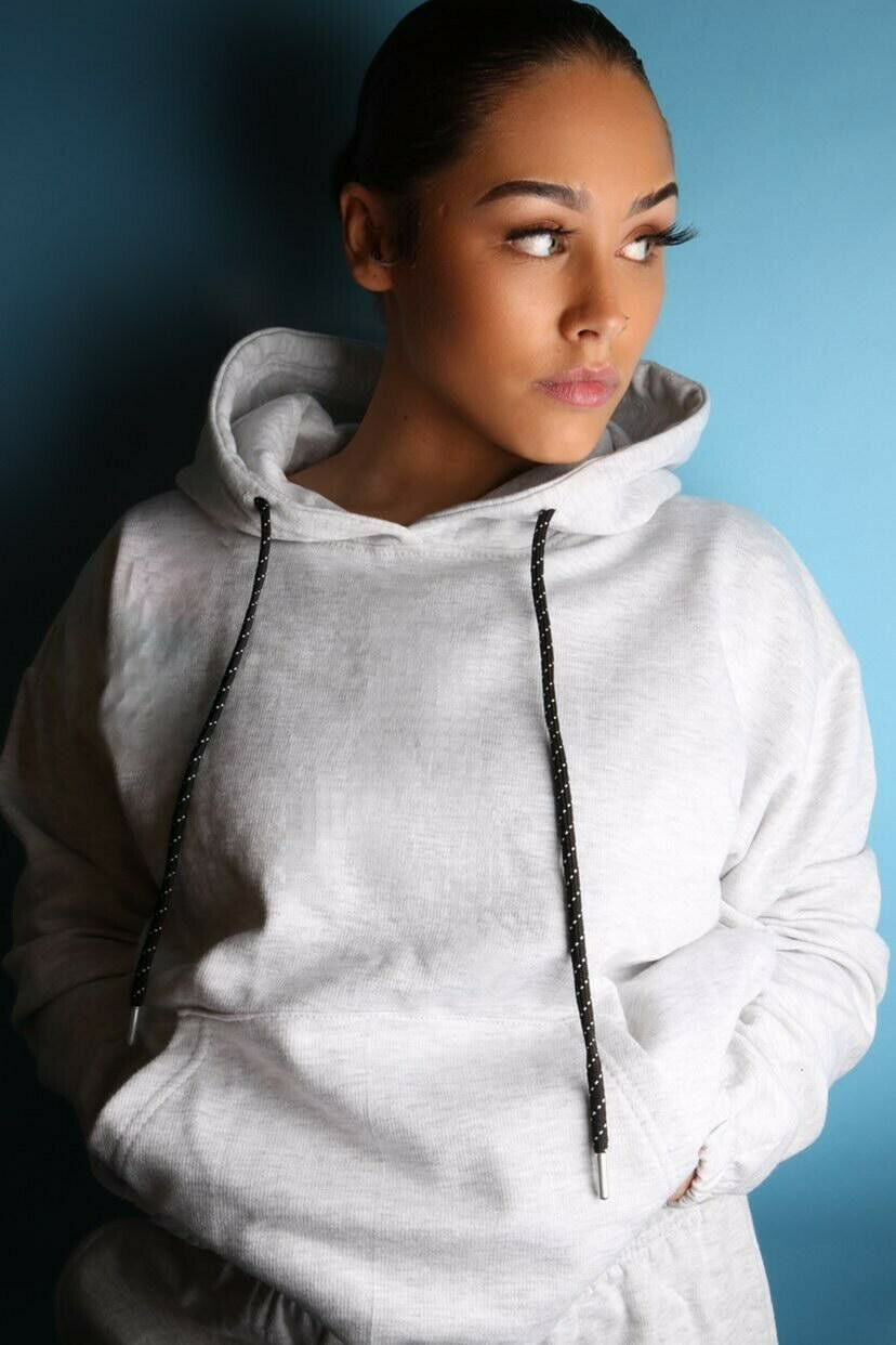 Women's Grey Loungewear Tracksuits
