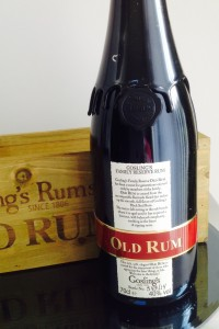 Gosling's Family Reserve Old Rum review by the fat rum pirate