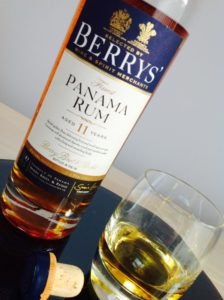 Berrys Panama Rum Aged 11 Years review by the fat rum pirate