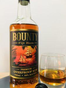 Bounty Fiji Rum Premium Overproof Rum Review by the fat rum pirate